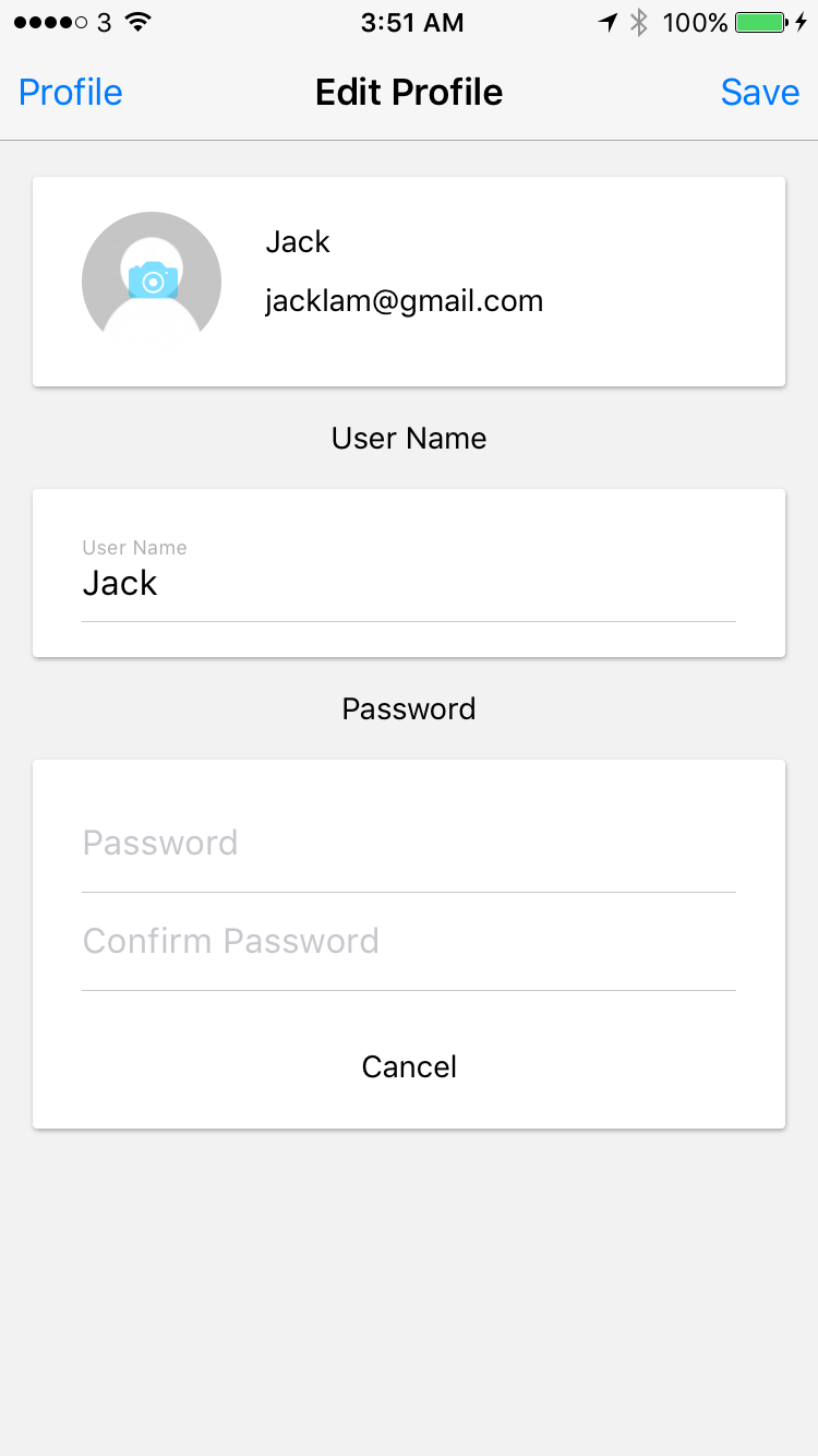 a react native card component