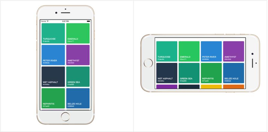 Responsive Grid View for React Native
