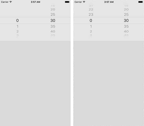 React native custom timepicker (24 hours format) for iOS
