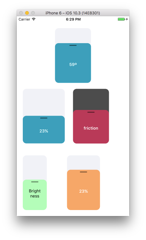 Pure JS easily customisable and hackable react native slider