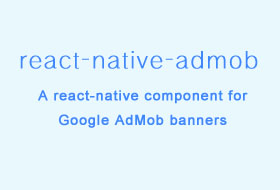 A react-native component for Google AdMob banners and interstitials