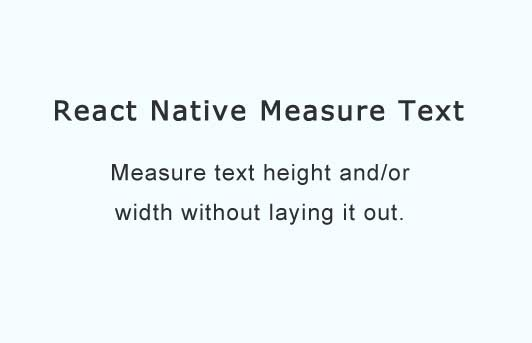 Measure text height without laying it out