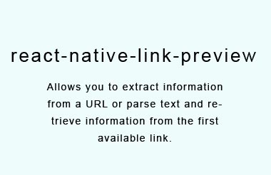 Javascript module that allows to extract URL information from text