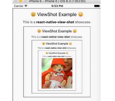 Capture a React Native view to an image