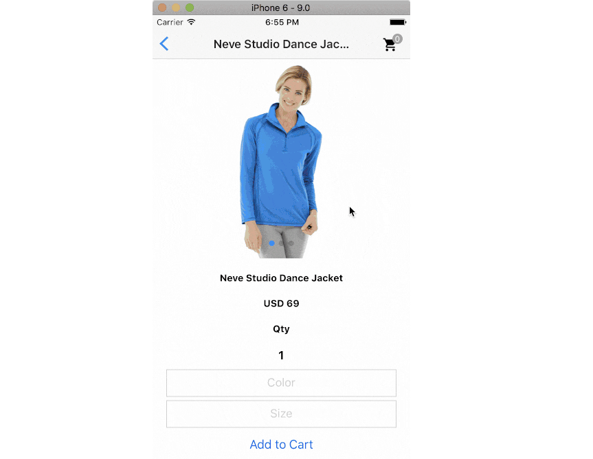React Native mobile app for Magento 2.x