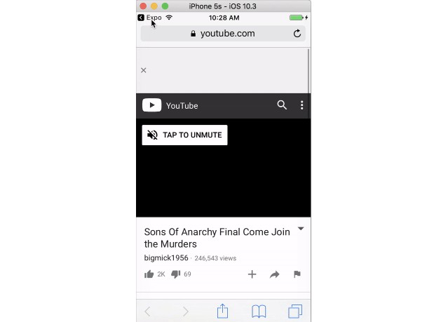 Easily show thumbnails for videos on react native