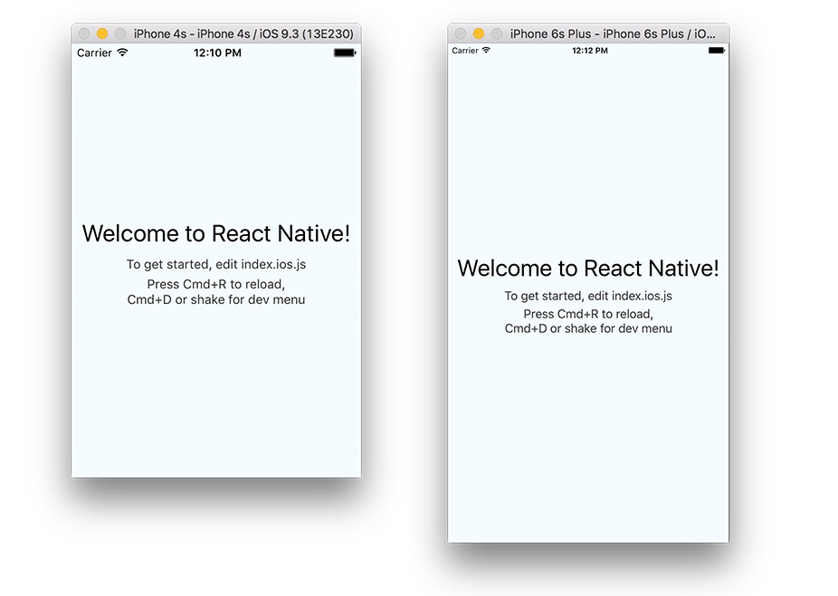 React Native Text scales the font size based on a device width