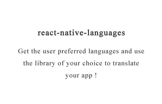 Get the user preferred languages and use the library of your choice to translate your app
