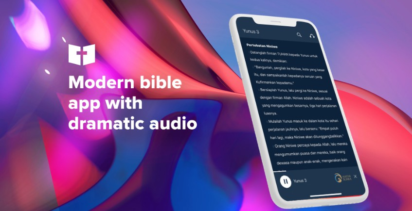 A simple & fast bible app with dramatized sound using React Native