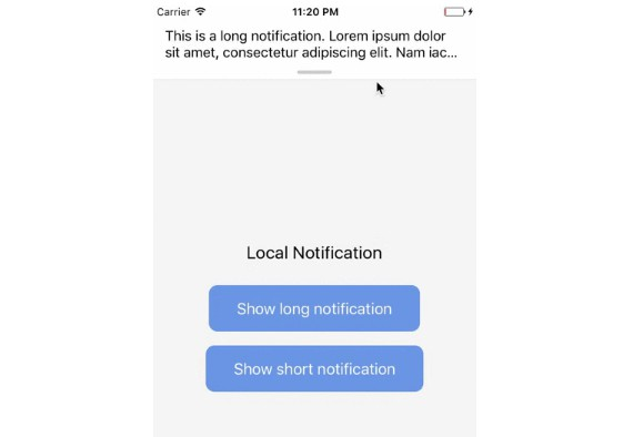 A package for React Native apps to show in-app notifications