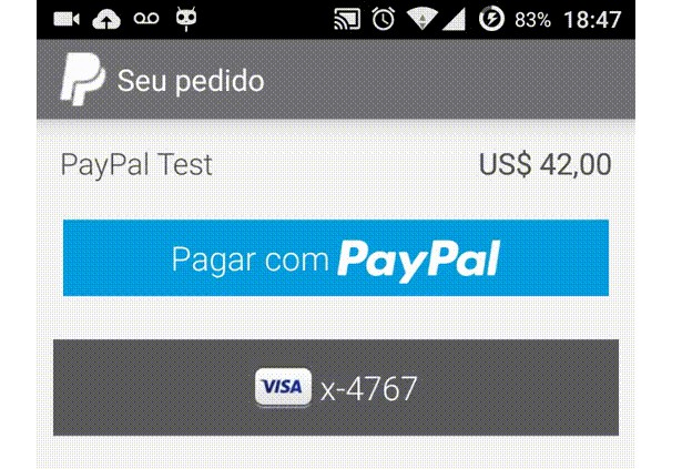 A React Native Interface For The Paypal Payment Ui