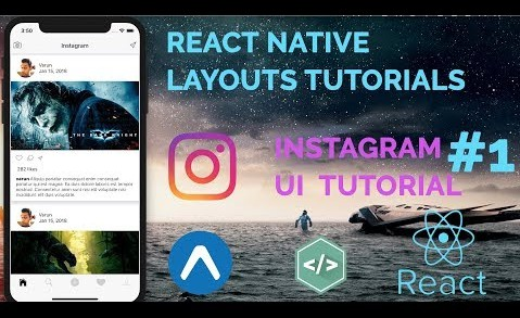 React Native Instagram UI Clone & Steemit App