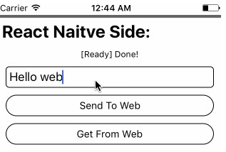 Invoke functions between React Native and WebView directly