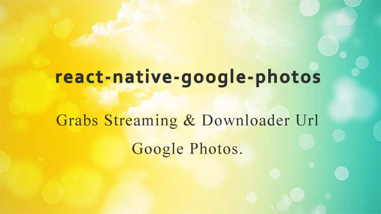 Grabs Streaming & Downloader Link Google Photos