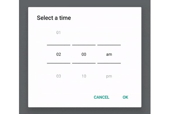Dynamic android picker dialog for react native