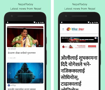 Nepal Today app in react native