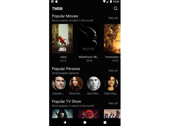 Movies catalog app written in react native